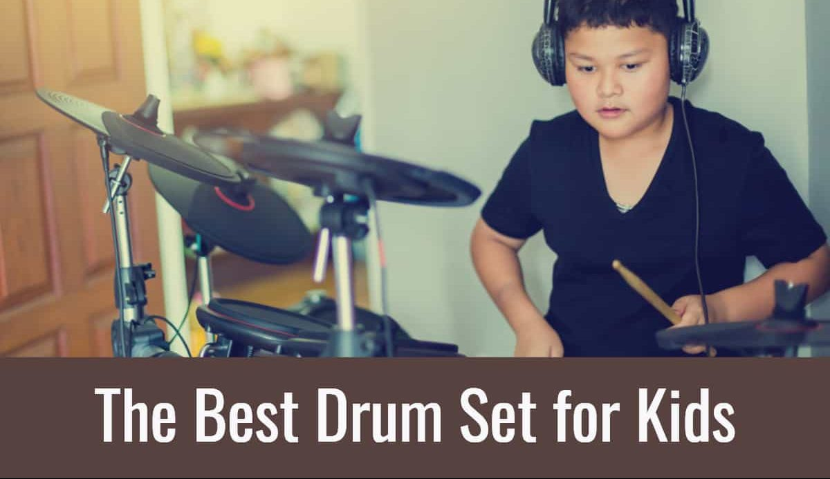The Best Drum Set for Kids - Daedelus Music Reviews