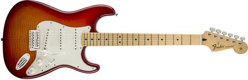 Fender Stratocaster guitars.
