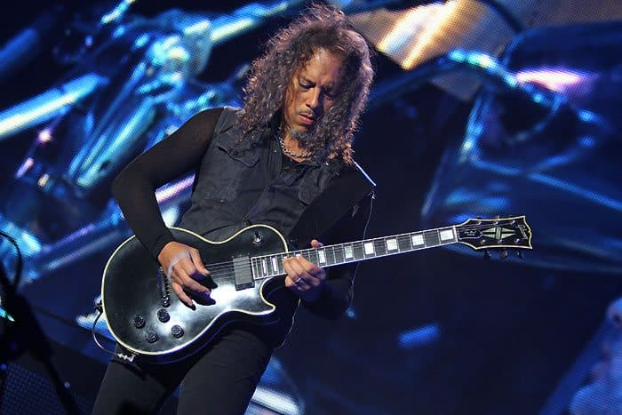 Kirk Hammett's Gibson Les Paul Custom