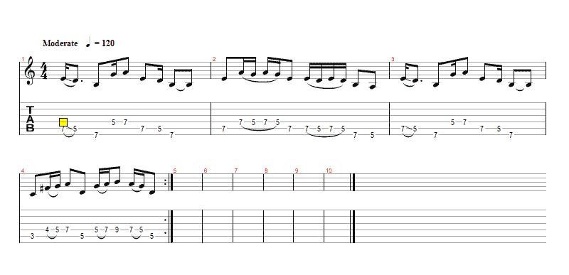 Easy Blues Rhythm Licks