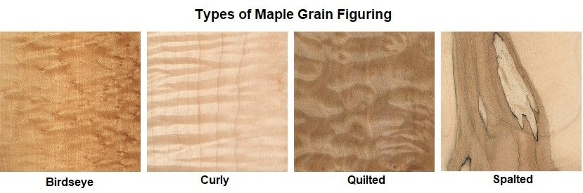 HARD MAPLE GRAIN FIGURING