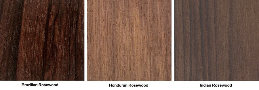 Types Of Rosewood