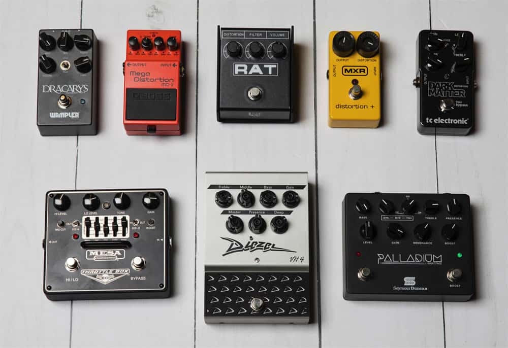 How To Choose A Right Distortion Pedal?